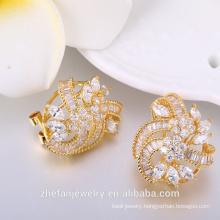 Korea online shopping earrings jewelry turkish design suit studs