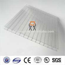 двойной стены пластичный полый лист поликарбоната