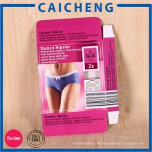 Buntes gedrucktes kundengebundenes Verpackenkasten der Kartonwäsche