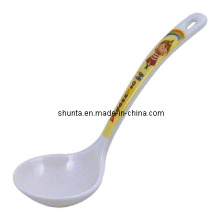 100% Melamine Tableware -Kid′s Tableware Ladle /Houseware Supplier Spoon (pH107-1)