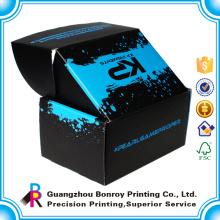 Impressão ondulada da caixa de armazenamento da roupa feita sob encomenda da impressão de cor completa