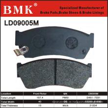 Hochwertiger Bremsbelag (D9005M)
