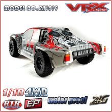 1/10 scale brushless short course truck with 2.4GHz radio, 4WD electric RC toy car