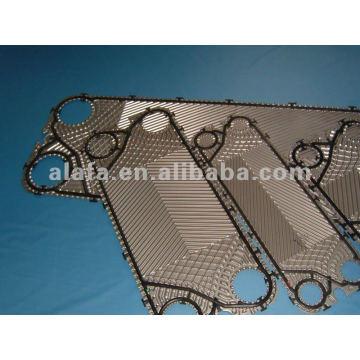 Plaques échangeurs de chaleur GEA 316L, matériel de Ti SS316L SS304