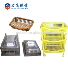 Customized Plastic injection rack mold mould