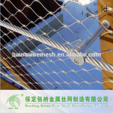 New Arrival Stainless Steel Wire Rope Fence Mesh Manufacture
