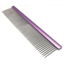 Ultimate Touch Cat Shedding Flat Top Comb for House Cat Smooth Comb