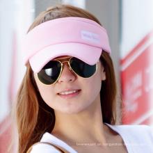 (LV15014) Sports Sun Werbe-Visor für Mädchen