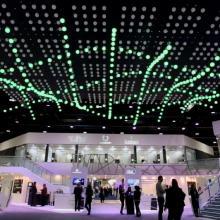 Luz de esfera LED Madrix digital con cambio de color