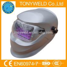 Welding helmet auto darkening with air filter