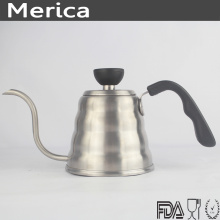 Caldera de café de acero inoxidable de 700 ml