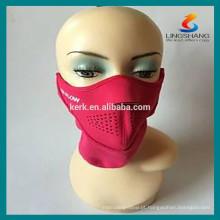 Capacete de segurança Motocicleta barata Máscaras protetoras de esportes meia face máscara de neoprene