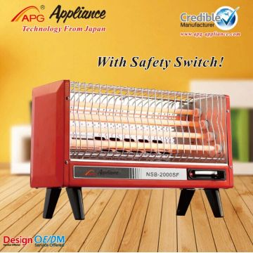 APG Electric quartz heater with fan