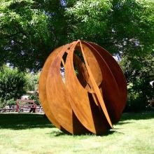 известный художественный металл тематический парк, статуя абстрактный сад кортеновской стали скульптуры