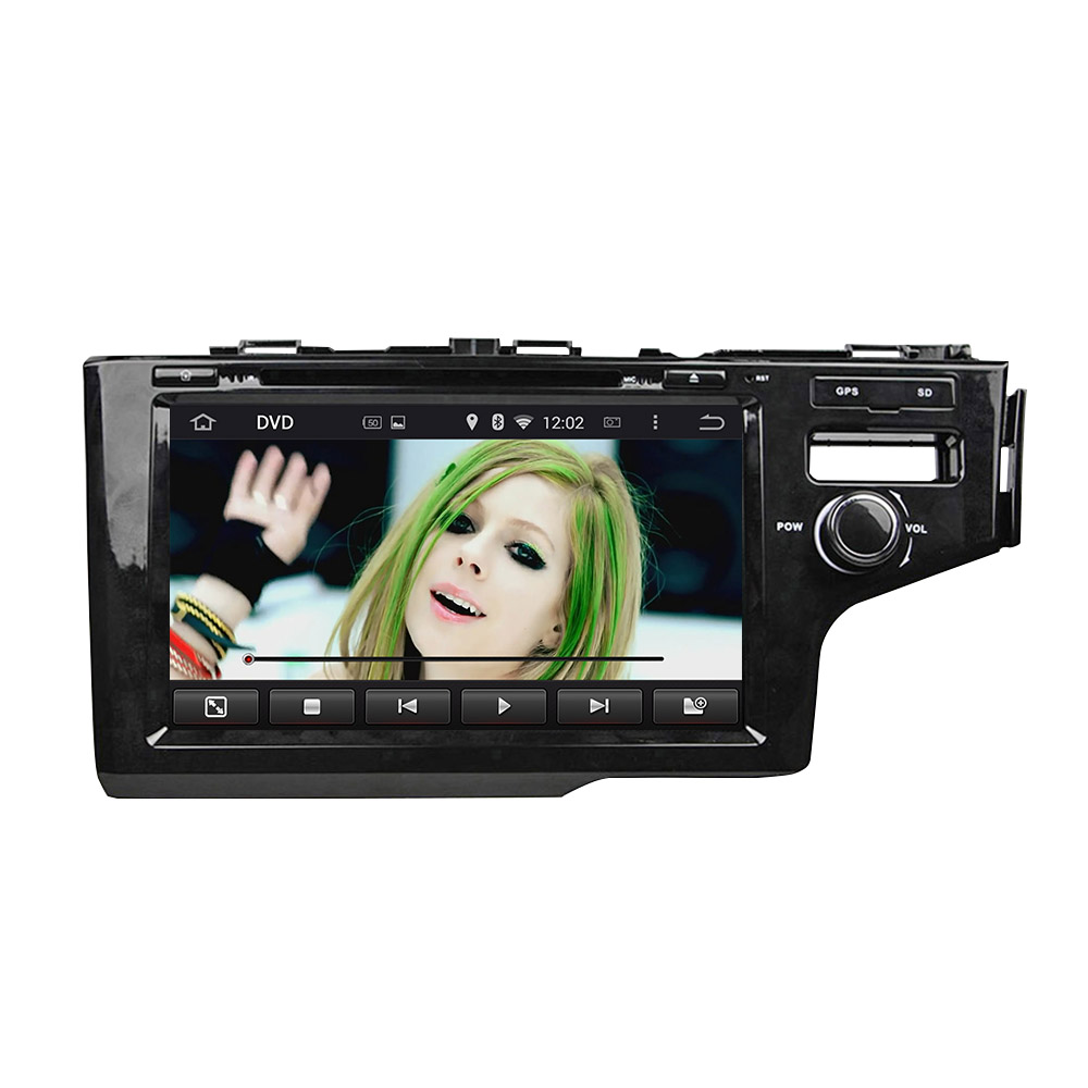 Android car DVD for Honda Fit 2014 RHD