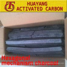 (8500kcal / 3,5-5hs Brennzeit) Hexagonal Mechanismus Kohle für BBQ Kohle / Sägemehl Holzkohle