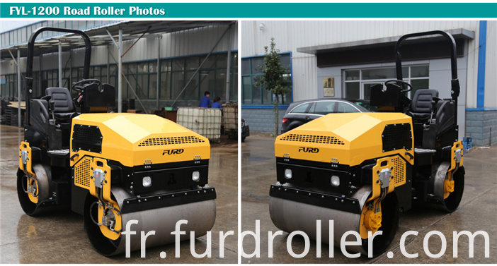 Double Drum Vibrating Roller