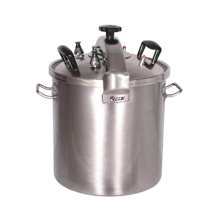 Cocina de presión de acero inoxidable Deluxe 51L