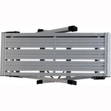 Grande échelle de plate-forme de travail en aluminium en deux étapes