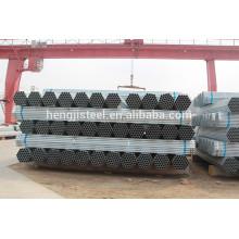 Galvanizado aço soldado preço por tonelada com alta qualidade