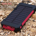 Portable Solar Power Bank Ladegerät Wasserdicht 10000 mAh für iPad (SC-5688)