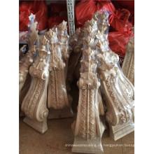 ménsulas decorativas de madera moldes artesanales