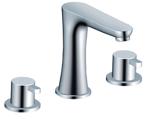 deck mounted basin faucets