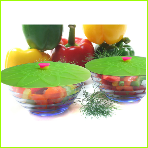Flexible Food Grade Silicone Lids Set