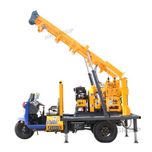 truck tractor mounted water well drilling rig/borehole drilling rig/mini water well drilling rig