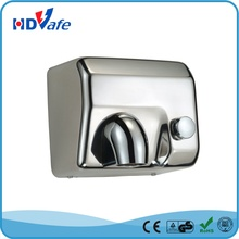 Large Power Warm Wind Hight Speed Manual Button Hand Dryer for public washroom