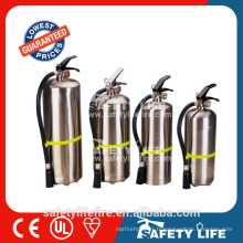 Extincteur d'incendie d'acier inoxydable de la mousse SASO CE de 2L ~ 6L AFFF Extintor