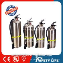 Extintor de aço inoxidável do CE de SASO Extintor da espuma de 2L ~ 6L AFFF