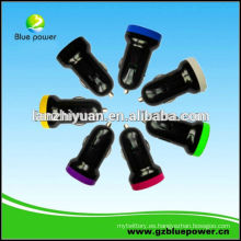 2013 Venta al por mayor Alibaba Aliexpress Micro Car Charger Mobile USB Car Charger / 5V 1A Auto Cargador