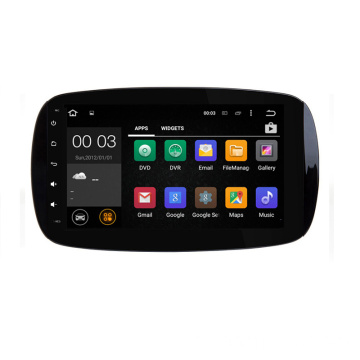 1din Android pour Mercedes Benz SMART 2015-2017