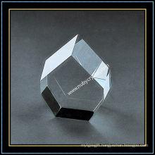 Blank Clear Crystal Blocks