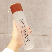 360ml portable frosted drink bottle water bottle