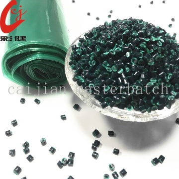 Fluorescent Green Blowing Film Masterbatch Granule