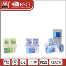 3pcs пищи класса PP микроволновой продовольствия контейнер набор