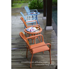 Luxury Durable Easy Cleaning coffee shop chair