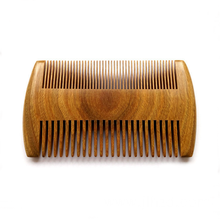 Double Sides sandalwood pocket beard comb Mustache comb