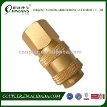 Conexiones de manguera de latón con juntas rotativas hidráulicas