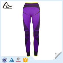 Высокое качество спортивные штаны Бесшовные термальные длинное нижнее белье