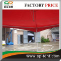 aluminum frame red Tension tent 5mx5m for outdoor event