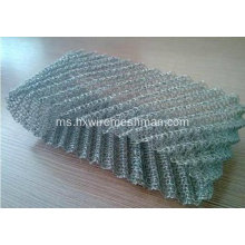 Mesh Wire Crimped Knitted