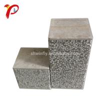 Precio exterior de la tabla de aislamiento del silicato de calcio del panel sándwich ligero incombustible