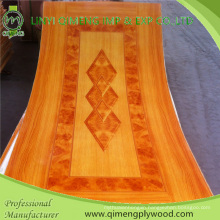 Competitive Price 1.5-5.0mm Polyester Paper Door Skin Plywood From Linyi