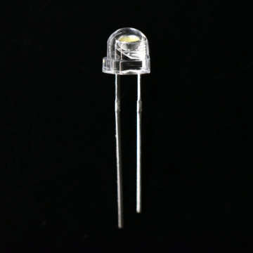 5mm vit LED halmhatt Cool White 8000-11000K