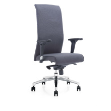 Modern Luxury Highback Leather Office Executive Chair with Multi-Function Mechanism