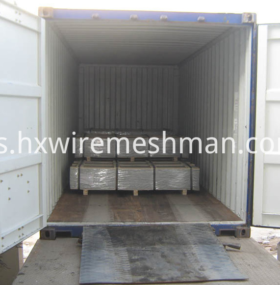 welded mesh panels shipping