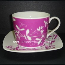 Kaffee-Tasse und Untertasse (CY-P512A)
